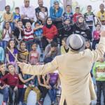 Pallasos en Rebeldía regresa a Palestina con un campo de trabajo de la risa