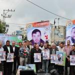 Sentada de apoyo con presos palestinos en huelga de hambre