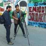 Periodistas chilenos graban Documental sobre ocupación israelí en Palestina