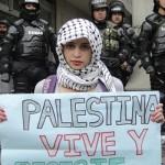 Solidaridad con Palestina en la semana contra el Apharteid en Colombia